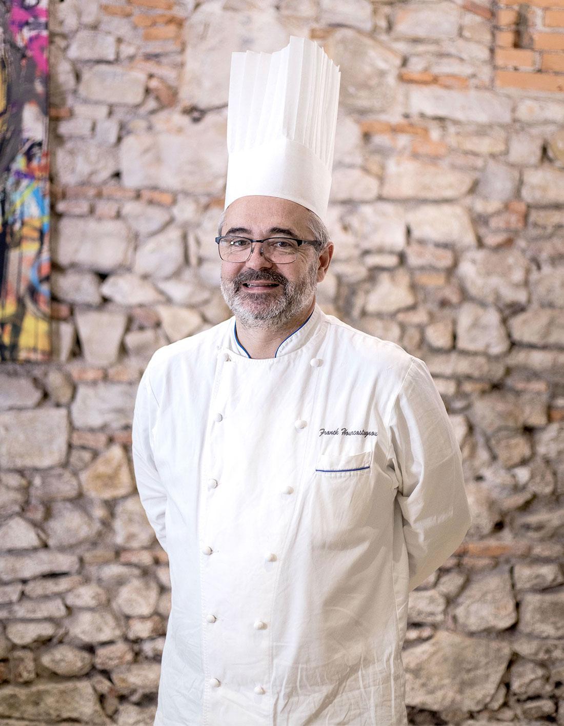 Photo du Chef Franck Hourcastagnou